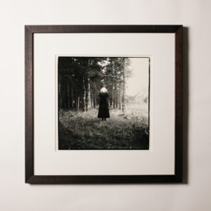 framed darkroom print | it's all in her head #1